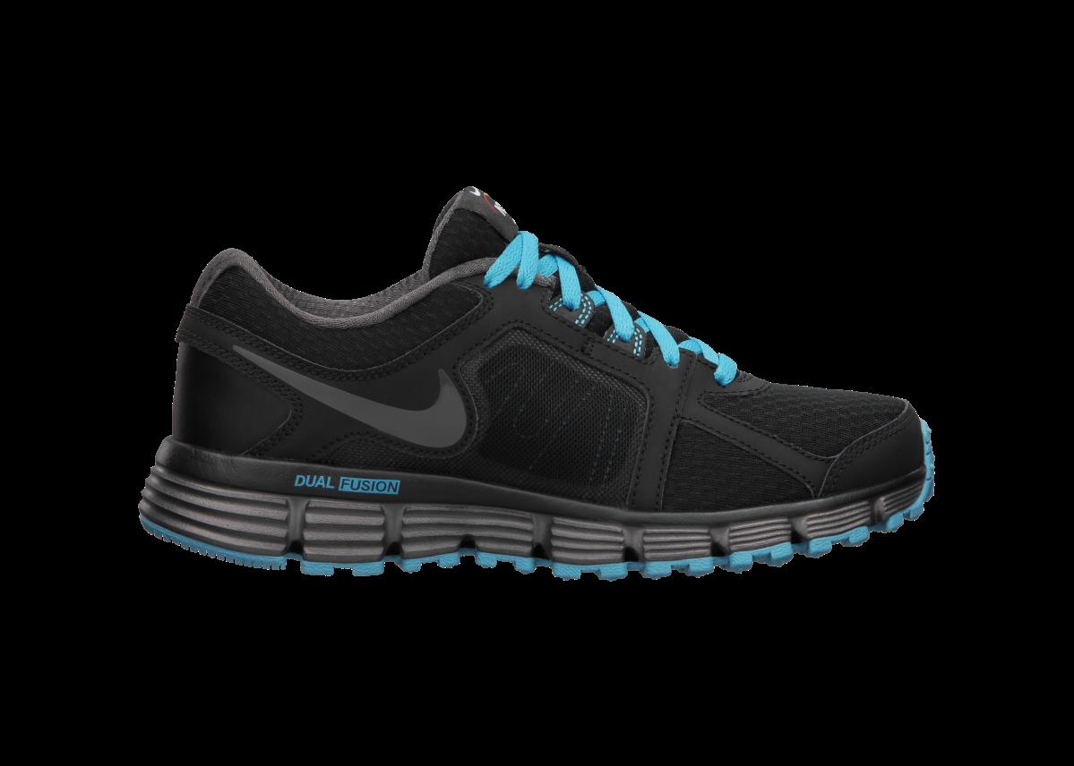 ... Nike N7 Dual Fusion ST 2 (3.5y-7y) Boys' Running Shoe has a running