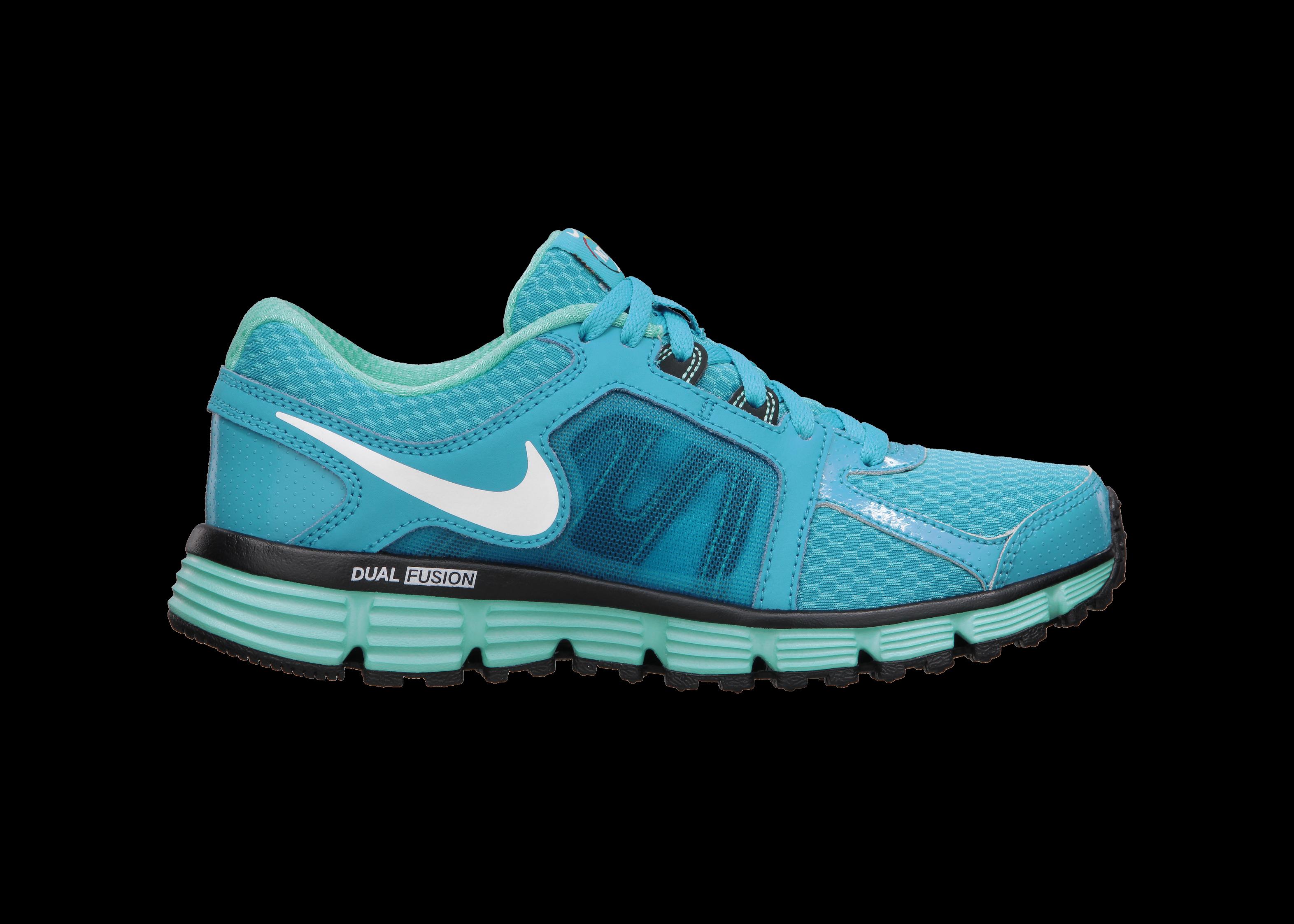 ... Nike N7 Dual Fusion ST 2 (3.5y-7y) Girls' Running Shoe has a running